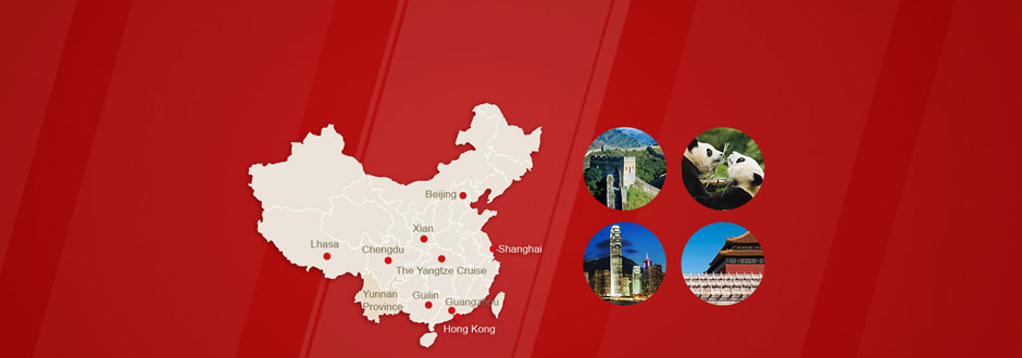 <b>2015 Top 10</b> Destinations to Travel in China