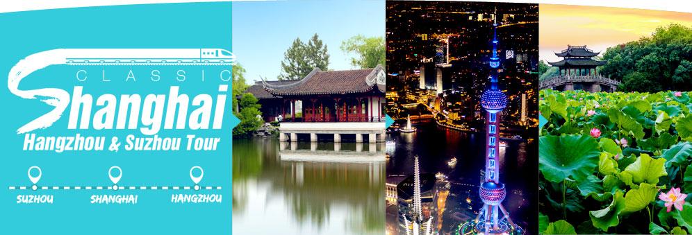 Classic Shanghai, Hangzhou & Suzhou Tours