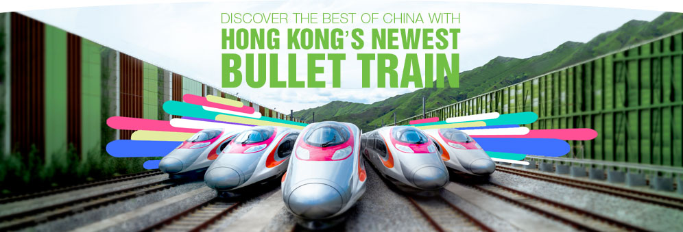 Discover the Best of China with Hong Kong's Newest Bullet Train-m2c