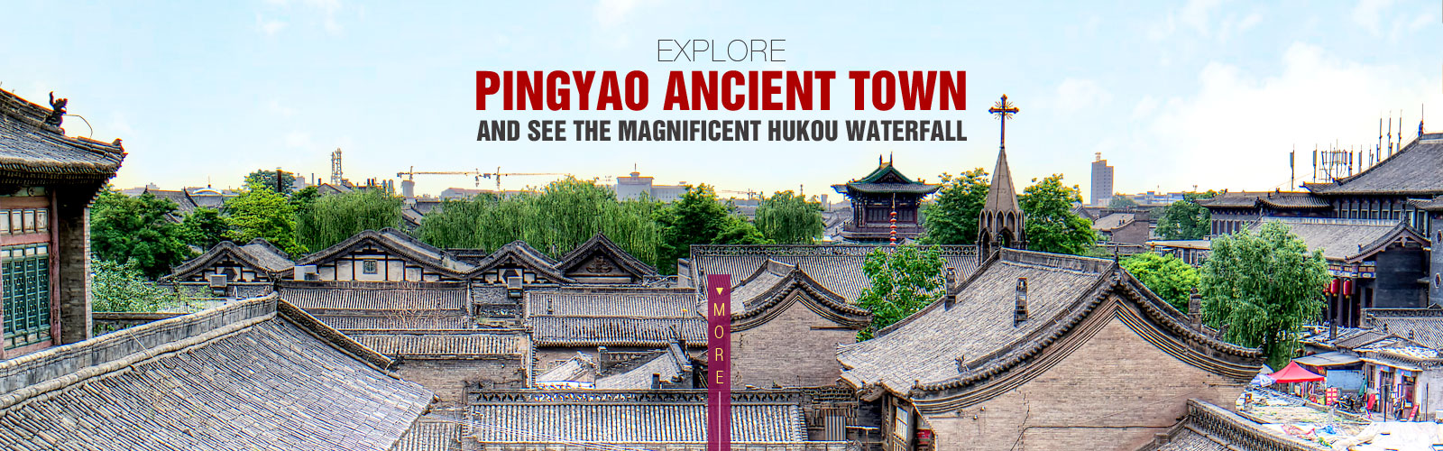 Explore Pingyao Ancient Town and see the Magnificent Hukou Waterfall
