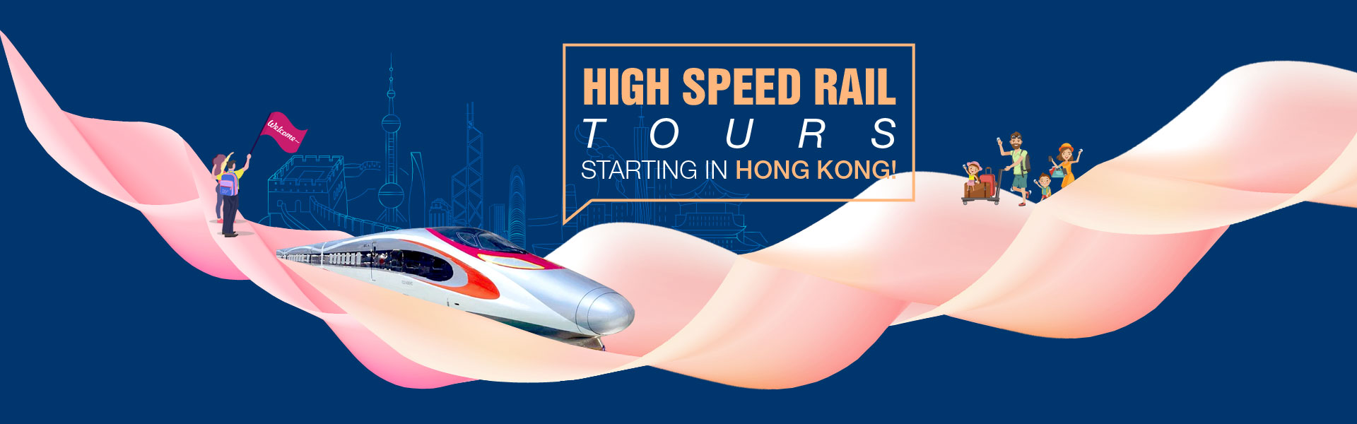 High Speed Rail Tours Starting from Hong Kong for CTA