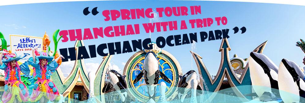 Spring Tour in Shanghai with a Trip to Haichang Ocean Park