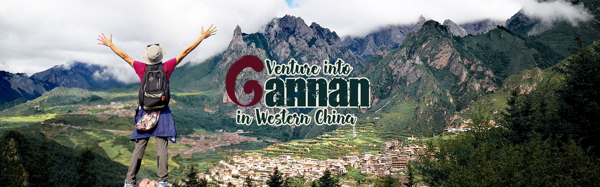 Venture into Gannan in Western China