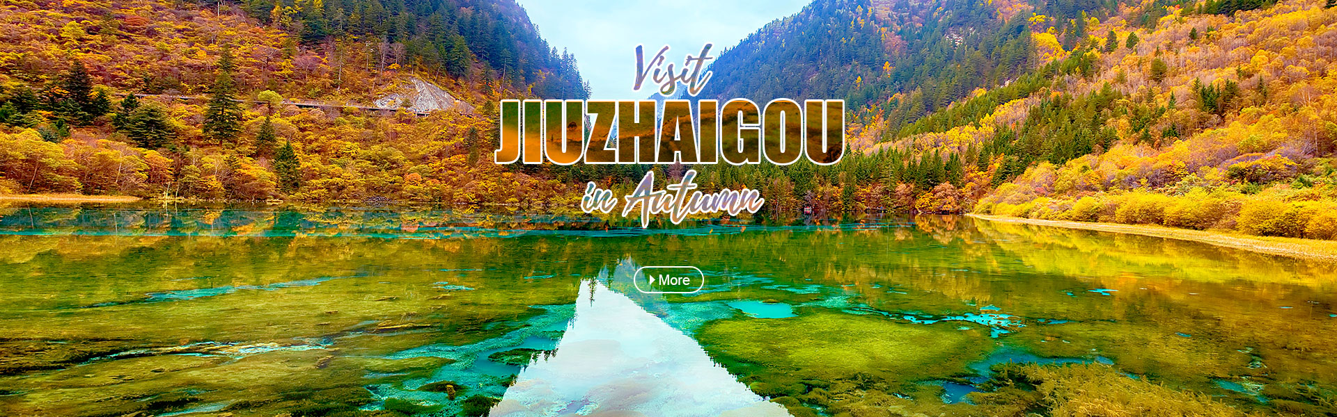 Visit Jiuzhaigou in Autumn-CTA