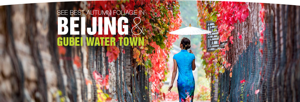 See Best Autumn Foliage in Beijing & Gubei Water Town for M2C