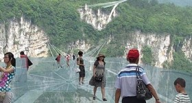 Zhangjiajie Will Open World's Longest  Largest Glass Bridge