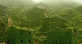 Shengshan Island Abandoned Village in China