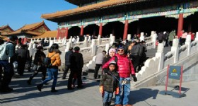 3 Days Beijing Winter Tour - Visitors at the Forbidden City