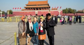 Beijing 5 Days Tour - Guests at the Tiananmen Square