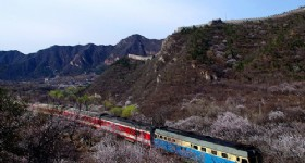 Spring Scenery along Juyongguan Great Wall