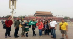 Great Time in Beijing - Visitors at Beijing Tiananmen Square