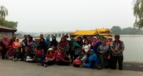Malaysian Muslim Group at Beijing