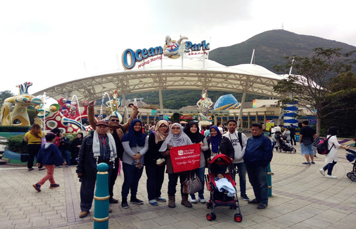 7 Days Hong Kong, Macau and Shenzhen Tour - 10 Visitors at Hong Kong Ocean Park