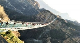 World's Longest Glass Bridge Opens in Hebei Province