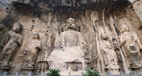 Luoyang Longmen Grottoes opens Kanjing Temple for Tourists