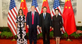 US President Donald Trump Visits Beijing