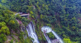 The World's Widest Glass Bridge Opens in Qingyuan