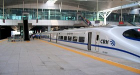 Xian Chengdu High Speed Train
