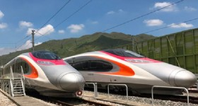 Hong Kong's High-Speed Rail Link Begins Trail Operations