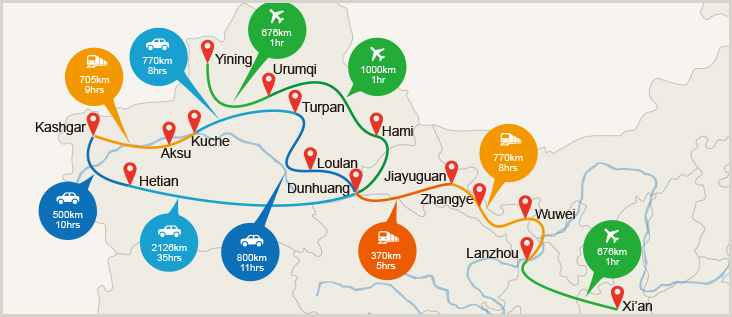 an overview of china and europes commerce called silk road