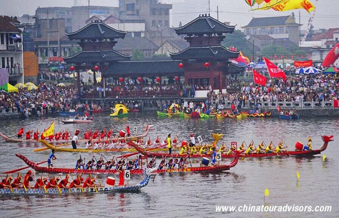 Chinese Dragon Boat Food