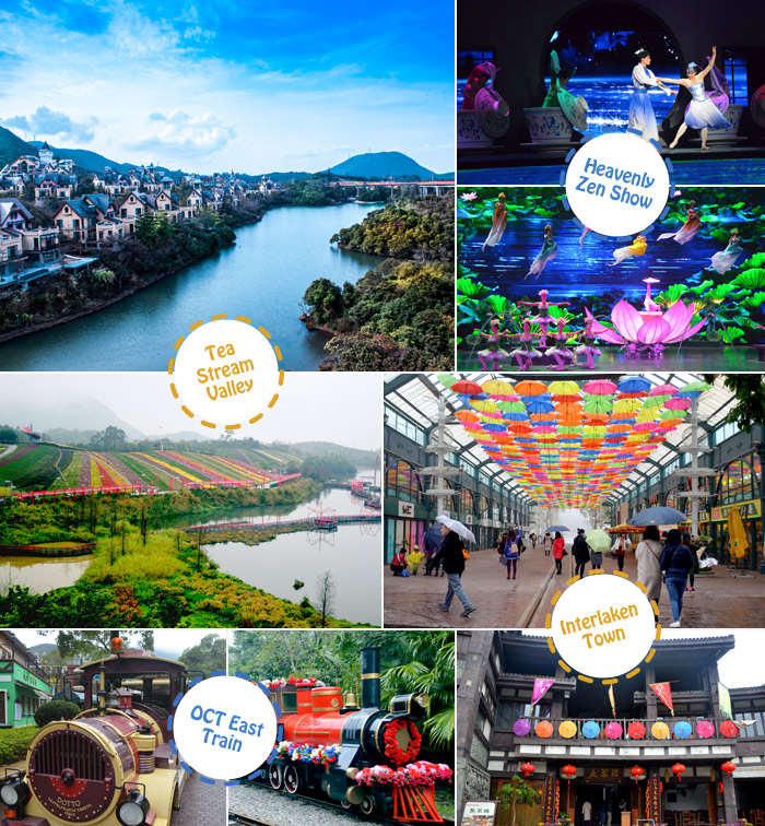 Shenzhen OCT East Attractions