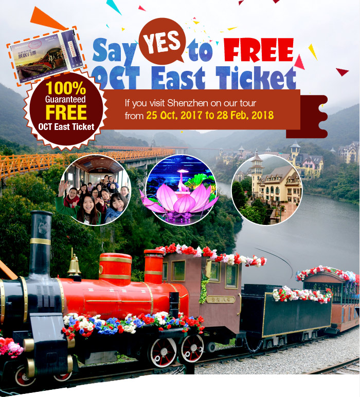 Say YES to FREE OCT East Ticket