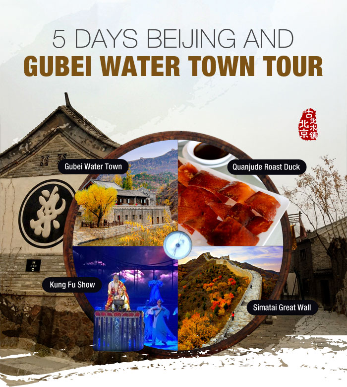 Beijing and Gubei Water Town Tour